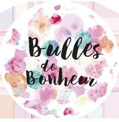 logo bulles de bonheur box cadeaux plaisir d'offrir
